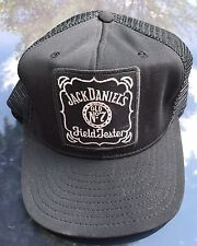 Jack Daniel's 07 Old No 7 Field Tester Trucker Hat Cap Embroidered Patch Men OS
