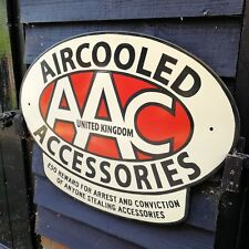 AAC enamel sign Aircooled Accessories enamel sign AAC dealer sign vw porsche new
