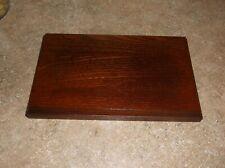 "New ListingVintage Andrea by Sa 00000B5D dek 10"" x 6"" Wooden Display Base Made in Japan"