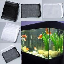 Lots 5/10PCS Nylon Aquarium Fish Tank Pond Filter Media Zip Mesh Net Bag Zipper