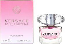 VERSACE BRIGHT CRYSTAL EDT Eau de Toilette Perfume Ladies 5 ML Amber Musk Lotus