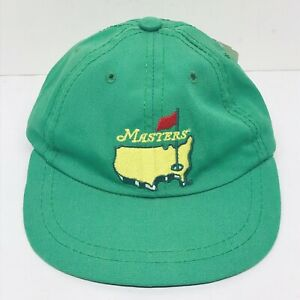 Masters Infant Baby Green Golf Hat Augusta National PGA Vintage USA NWT