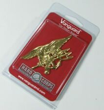 New Vanguard Navy Special Warfare Seal Full Size Gold Trident Uniform Badge