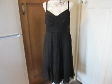 MONSOON HALLIE BLACK DRESS SIZE 14 BNWT from the GATSBY COLLECTION RARE