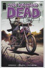 Walking Dead #15 (2005 Image) Robert Kirkman, Moore, Signed by Adlard, F+/VF