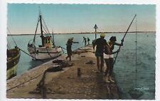 Cpa Carte postale 17 Charente Maritime Fouras La pêche aux crevettes