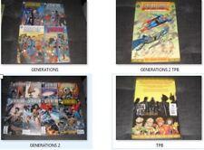 (O361) SUPERMAN BATMAN GENERATIONS comic book (LOT OF 13) # 1- 4, II TPB + III