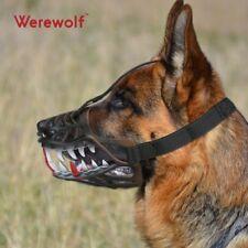 Dog Costume Muzzl Big Scary Wolf Sharp Teeth for Halloween Costume Medium Size