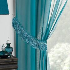 Savannah Tassle Fringe Sparkle Bling Shimmer Curtain Tie Backs Tie Ropes Pair