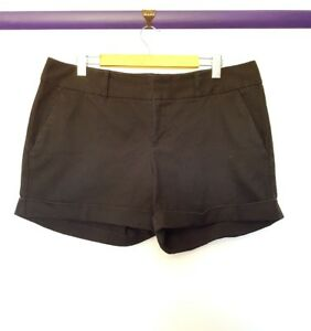 INC clothing womens size 16 black square check pocket short shorts