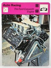 "The Ford Cosworth Engine 1978 Auto Racing Sportscaster 6.25"" Card 45-01"