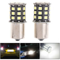 2Pcs White 1156 Rv Trailer 33-Smd Led Interior Backup Light Turn Signal L FE