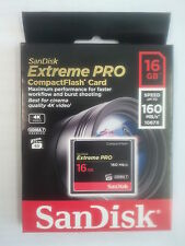 SanDisk Extreme Pro CF 16GB 160MB/s   SDCFXPS-016G-X46