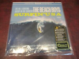 THE BEACH BOYS SURFIN USA STEREO 200 GRAM AUDIOPHILE QUALITY LIMITED EDITION LP
