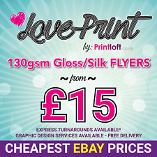 A5 Flyers Leaflets Printed Full Colour 130gsm - Silk Gloss - A5 Flyer Printing