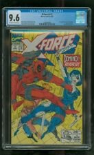 CGC 9.6 X-FORCE #11 MARVEL COMICS 1992 1ST APPEARANCE OF REAL DOMINO DEADPOOL 2