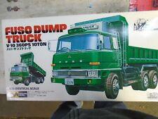 1/24 fuso dump truck model cars and trucks