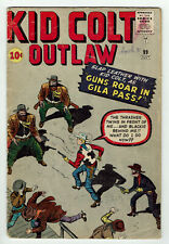 Kid Colt Outlaw #99 (Marvel, 1961) JACK KIRBY COVER!