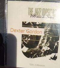 DEXTER GORDON 100 ANOS DE SWING JAZZ MASTERS FOLIO COLLECTION CD NEW SEALED