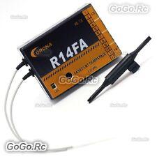 Corona R14FA FASST 2.4Ghz 14Ch Receiver For FUTABA Transmitter 6EX 8FG 10CG 12FG