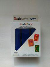 Sizzix Doodle Block Uppercase Alphabet Set 9 Alphabars Dies 27 Shapes Brand New