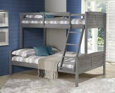 Bunk Bed Twin over Full in Antique Grey