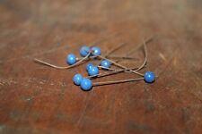 Anciennes épingles perle fabrication bijoux fantaisies - loisir créatif - ref 50