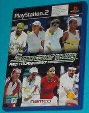 Smash Court Tennis Pro Tournament - Sony Playstation 2 PS2 - PAL