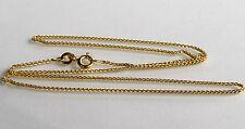 ECHT GOLD *** Kette Goldkette Zopfkette 40 cm