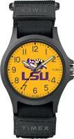 LSU Tigers Louisiana State Men's Watch Timex Adjustable Strap Watch