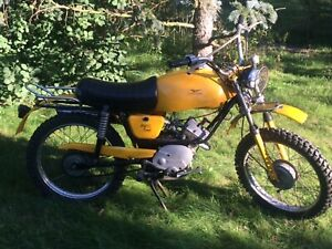 Moto Guzzi Dingo 50 Cross Baujahr 1973 Originalzustand