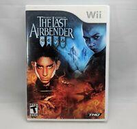 The Last Air Bender - M Night Shyamalan (Nintendo Wii, 2010) Complete CIB