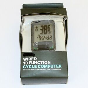 Halfords Wired Bicycle Computer 10 Function - SPR