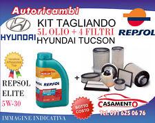KIT TAGLIANDO HYUNDAI TUCSON 1.7 CRDI 104KW DAL 6/2015 IN POI + 5L REPSOL 5W30