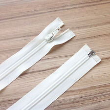 """NYLON OPEN ENDED ZIP. VARIOUS SIZE & COLOUR- 10"""" (25 CM)-34"""" (86 CM) [5 WEIGHT]"""