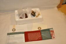 Franklin Mint Pocket Watch Colt Peacemaker 45 Chain Battery Tag Pouch Box Coa