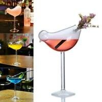 200ml Bird Shaped Glass Wine Cup Whiskey Drinking Tumbler Cocktail Wine Glasses