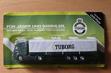 modellino autocarro per birra Rimorchio trasporto Mercedes Benz Axor Tuborg HS 9
