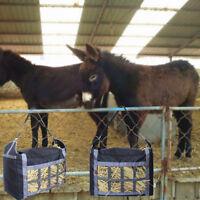 Pferde Heu Gras Tasche Langsam Futter Netz Robust Schwer Ballen Gewebe