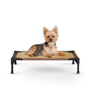 """K&H Pet Products Comfy Pet Cot Tan/Mocha 17"""" x 22"""" x 7"""""""