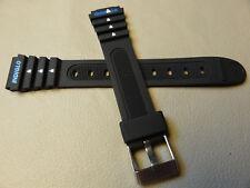 Ladies Timex Ironman Triathlon 15mm Black Sport Watch Band Indiglo 82271 T82271