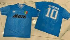 1 maglia Maradona Napoli MARS REPLICA EL PIBE DE ORO + PORTACHIAVI DIEGO el pibe