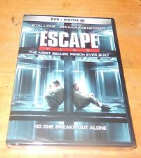 Escape Plan Schwarzenegger Stallone (DVD + Digital Ultraviolet) WS  NEW SEALED