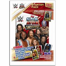 Topps WWE Slam Attax Universe 2019 Trading Cards Game Starter Pack Binder + Ltd