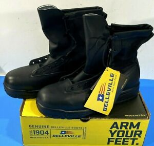 NEW BELLEVILLE 200G INSULATED WATERPROOF DUTY BOOTS 770V BLACK 9 NARROW