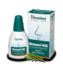 2 X Ayurveda Himalaya Bresol-NS (Drops/Spray) 10ml Free Shipping