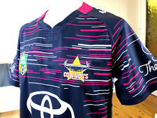 North QUEENSLAND Cowboys 2017 Wil Woman in League Jersey Mens Size XL