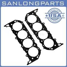 2Pcs Mls Multi Layer Engine Head Gaskets Fits Bbc Chevy 454 5211-2