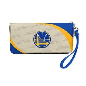 NBA Golden State Warriors Curve Zip Organizer Wallet*New*