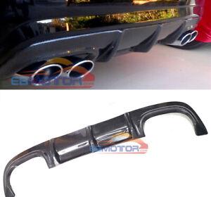 For Mercedes Benz W216 CL63 CL65 AMG 06-10 Real Carbon Fiber Bumper Diffuser